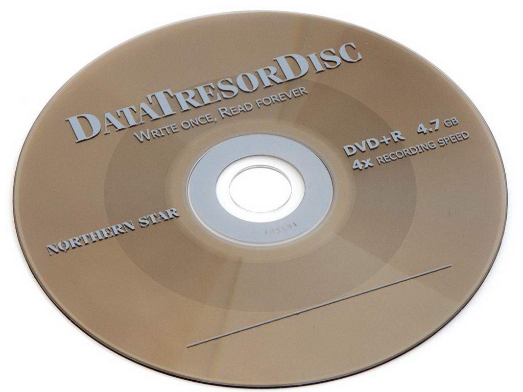 DVD Data Tresor disk
